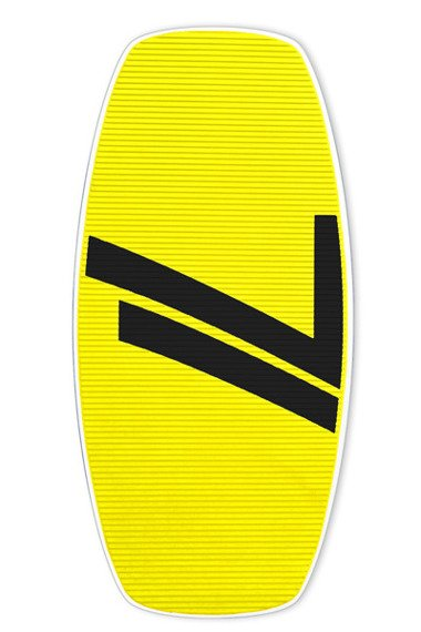 Skimboard Seventyone 667 Yellow Black