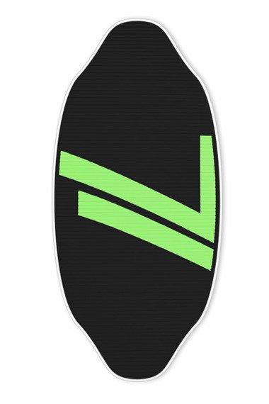 Skimboard Seventyone Gopher Black Neon Green