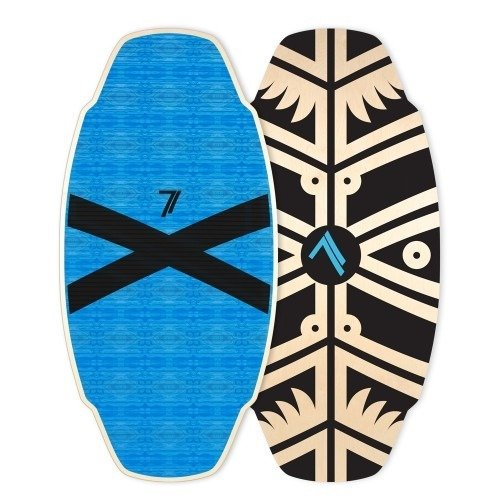 Skimboard Seventyone Logan Pro B.O.S Blue Black X edition