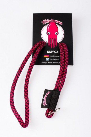 Smycz MINIMUMA Zebra Black Red