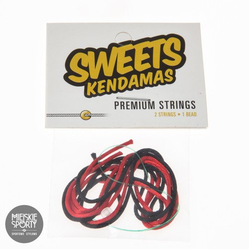 Sweets Kendamas SWEETS STRING PACK 2+1 Black Red