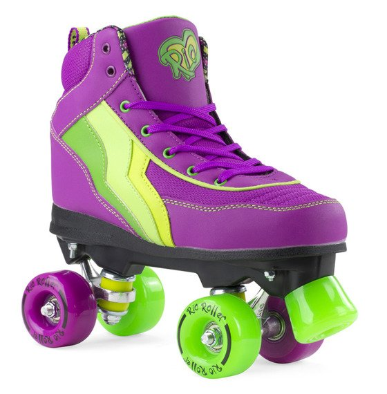 Wrotki RIO ROLLER CLASSIC II QUAD SKATES Grape