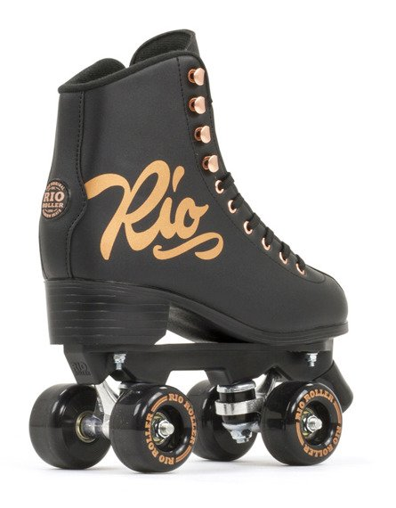 Wrotki RIO ROLLER ROSE QUAD SKATES Black