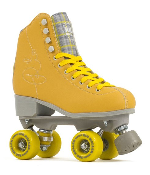 Wrotki  RIO ROLLER SIGNATURE QUAD SKATES Yellow
