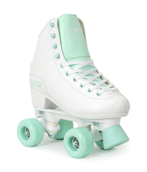 Wrotki  SFR FIGURE QUAD SKATES White/Green