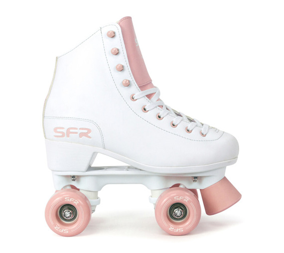 Wrotki  SFR FIGURE QUAD SKATES White/Pink