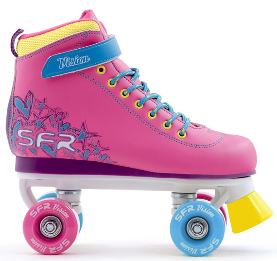 Wrotki SFR VISION II QUAD SKATES Tropical