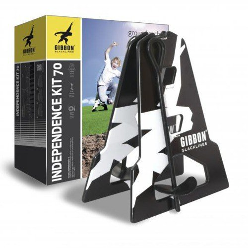 Zestaw montażowy do Slackline Gibbon INDEPENDENCE KIT 70 15m